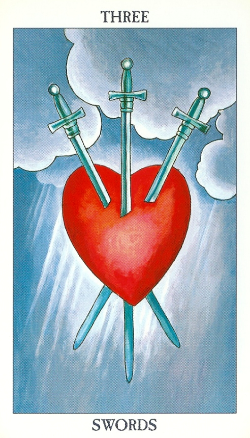 3 Of Swords Rx Reversed As Advice: Minor Arcana